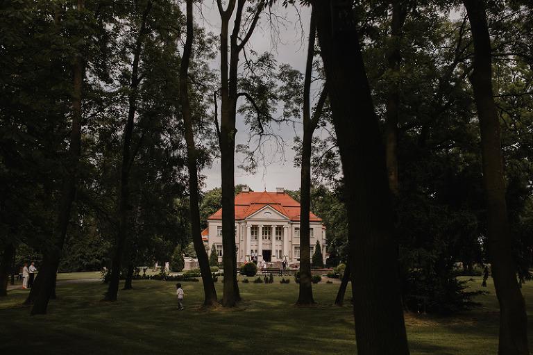 Pałac Tłokinia wesele