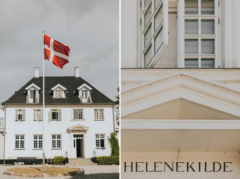 Denmark Helenekilde Badehotel wedding