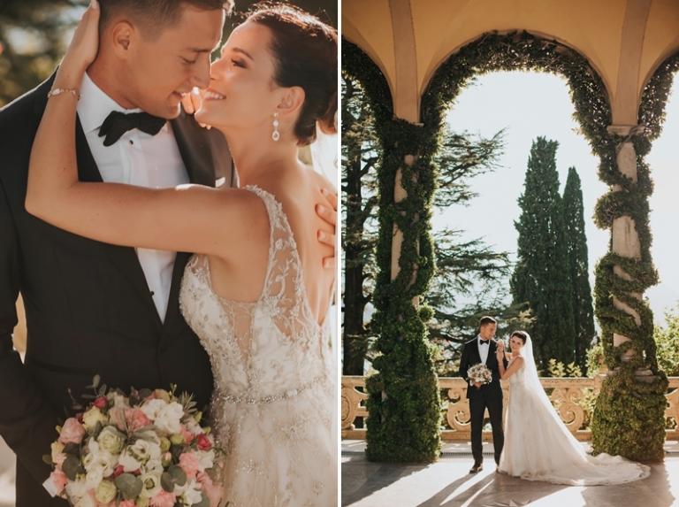 sesja ślubna Villa Balbianello