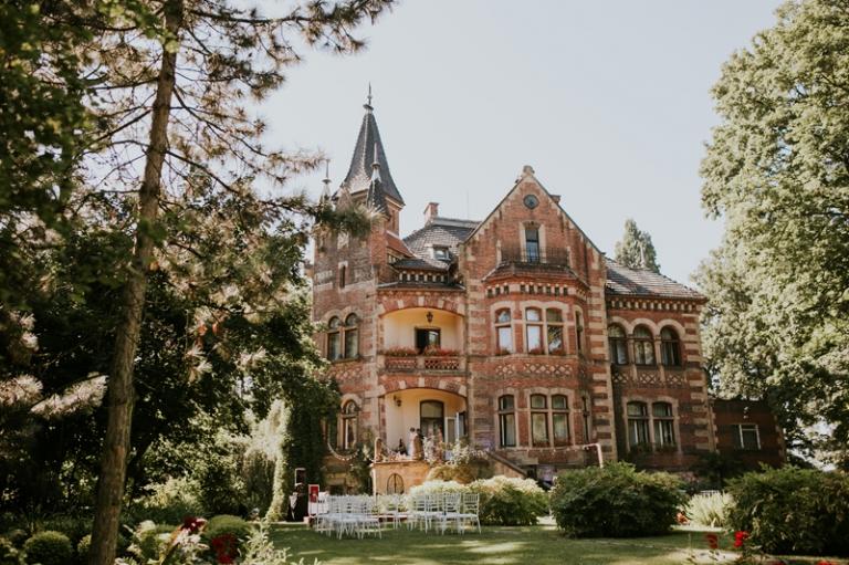 Ślub plenerowy w Pałacu Żeleńskich