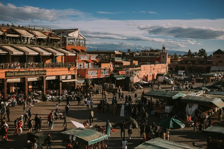 Sesja poślubna w Marrakeszu