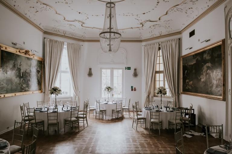 Pałac Goetzów kościelny ślub plenerowy